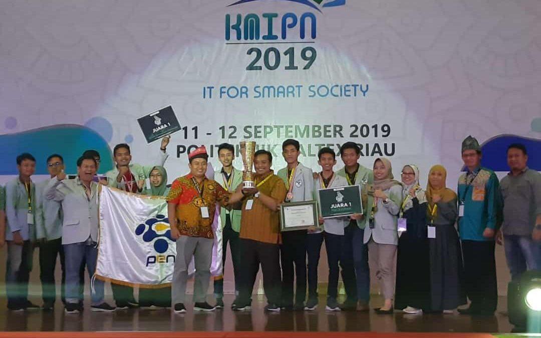 PENS Sukses Keluar Sebagai Juara Umum KMIPN 2019