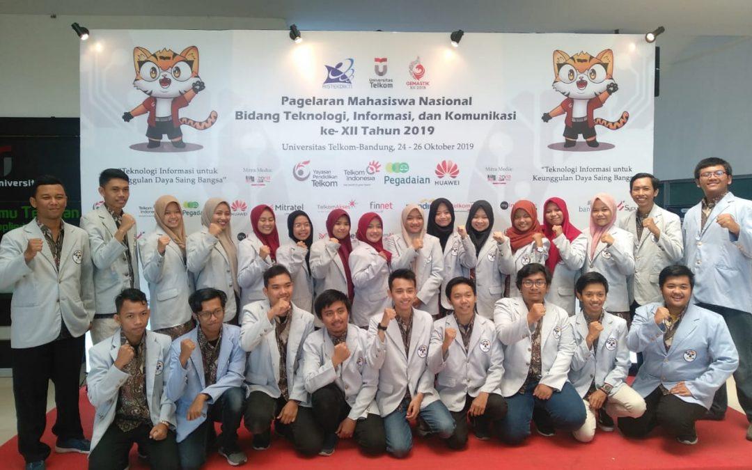 Mahasiswa Teknik Informatika PENS berlaga di GEMASTIK 2019