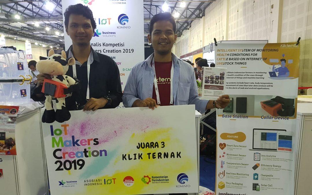PENS berhasil meraih Juara 2 dan 3 di IoT Makers Creation 2019