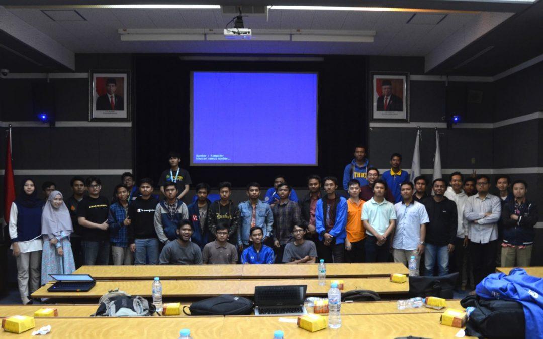 Hadapi Perkembangan Inovasi di Era Digital, HIMIT PENS Gelar Workshop Microservice