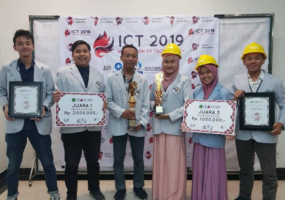 Mahasiswa IT PENS Sabet Dua Juara Innovative App Idea ICT 2019