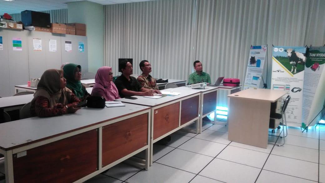 Kordinasi Kerjasama Penelitian antara Prodi Teknik Informatika PENS dengan Yayasan RS. Dr. Soetomo
