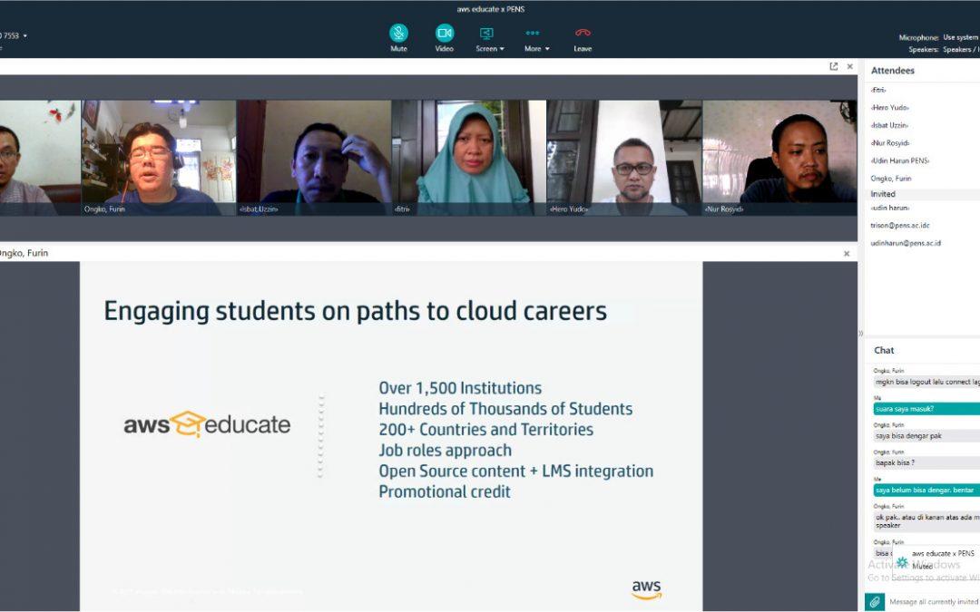 Diskusi Pengembangan Kurikulum D4 Teknik Informatika Cloud Computing