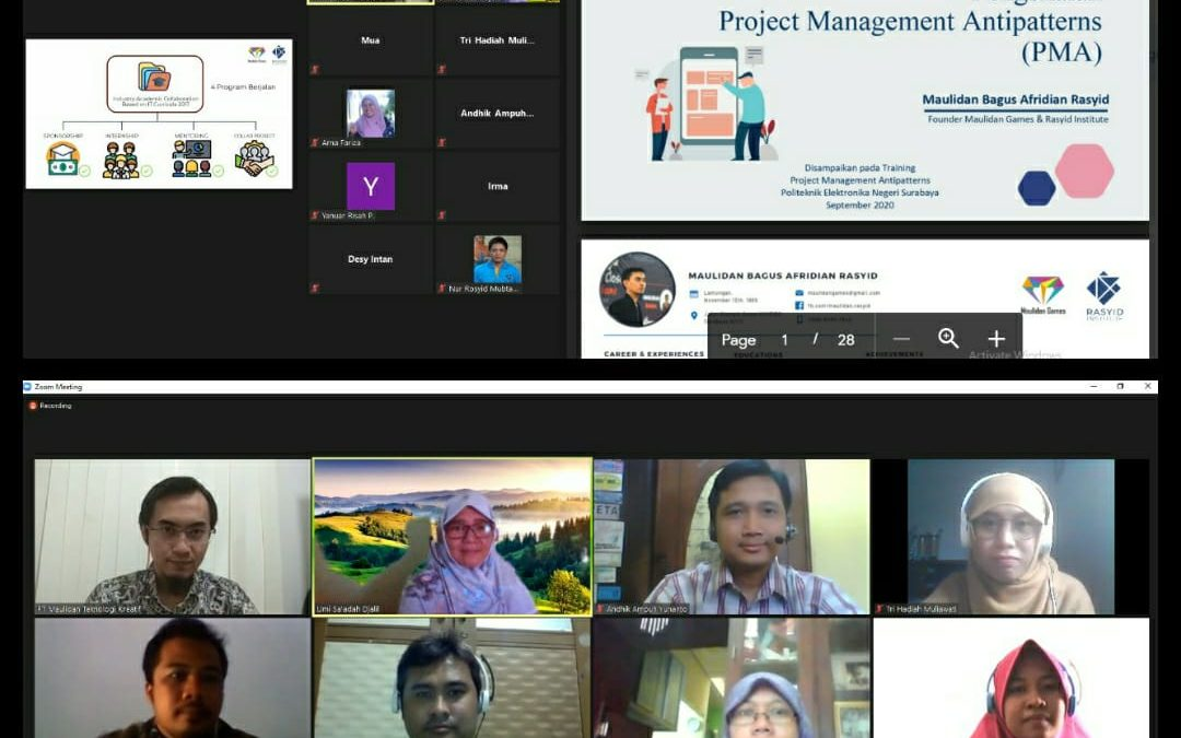 Pelatihan Project Management Antipatterns