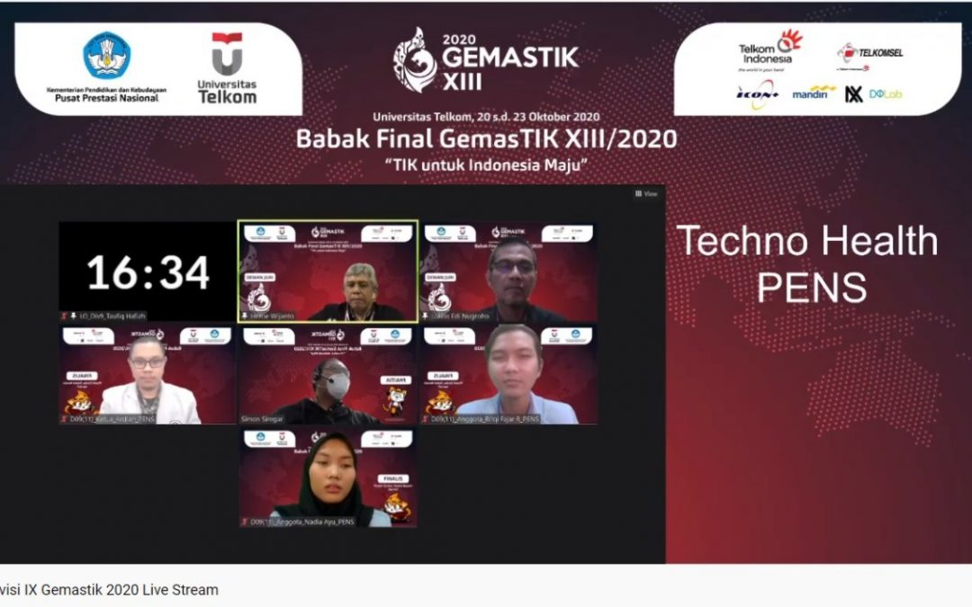 Mahasiswa IT PENS berpartisipasi dalam kompetisi Gemastik XIII