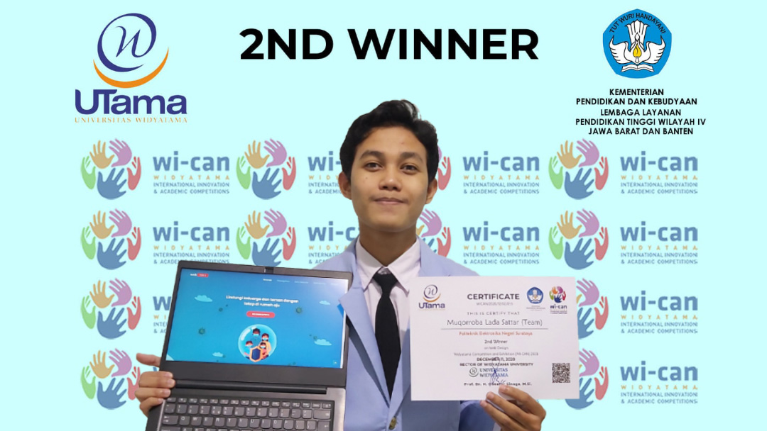 Juara 2 Lomba (WICAN) 2020