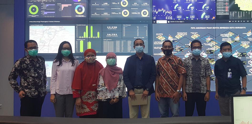 Kerjasama Riset Bidang Teknologi Informasi dengan PDAM Surabaya